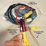Install Ceiling Lights Wires
