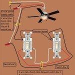 Wire A Ceiling Fan With Light Two Switches
