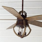 Ceiling Fan And Matching Pendant Light