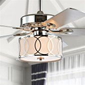 Ceiling Fan With Hanging Light