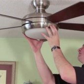 Change Ceiling Fan Light