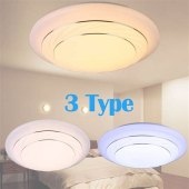 Lampwin 24w Round Led Flush Ceiling Light