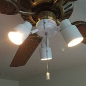 Replace Ceiling Fan With Pendant Light