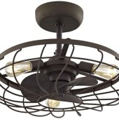 Small Ceiling Fan With 3 Lights